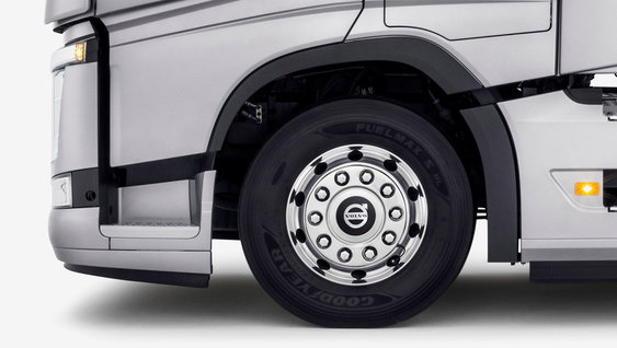 Volvo FH align your wheels