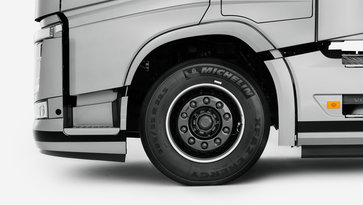 Volvo Trucks energy saving tyre